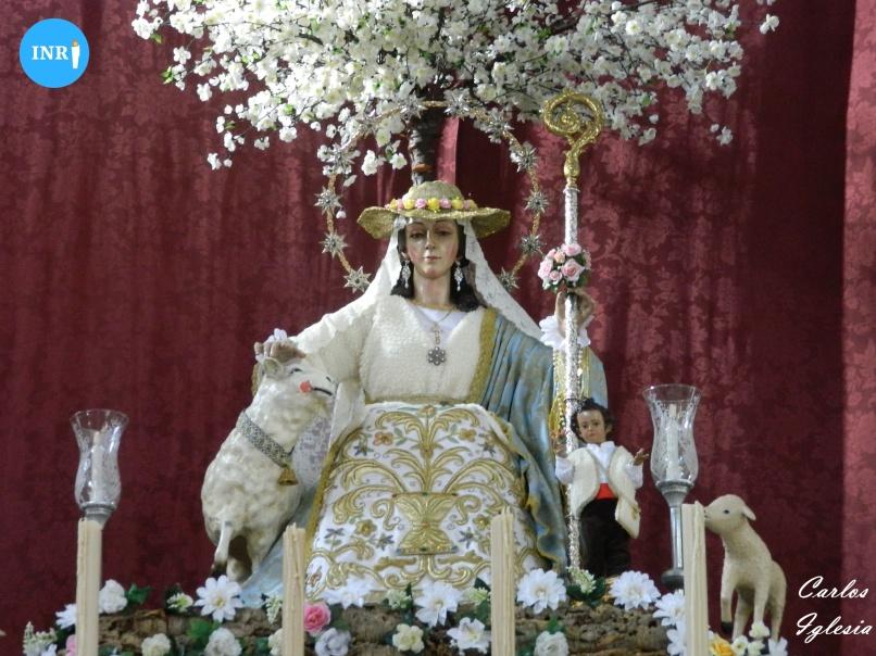 Divina Pastora de Padre Pío. Carlos Iglesia