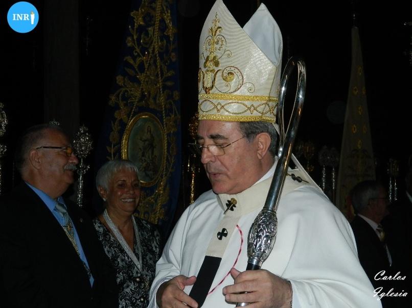 Juan José Asenjo, arzobispo de Sevilla. Carlos Iglesia