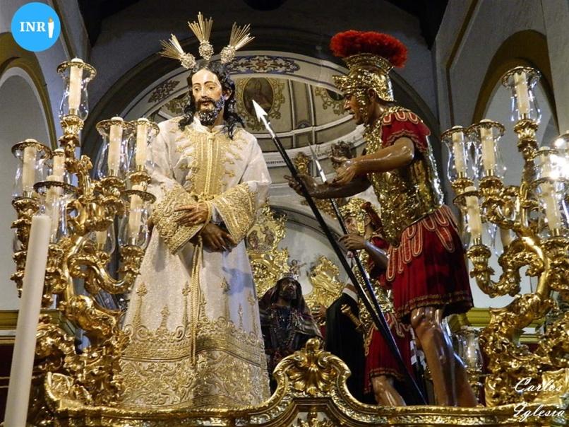 Señor del Silencio ante el Desprecio de Herodes de la Amargura. Carlos Iglesia