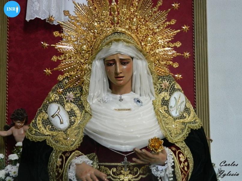 Virgen de los Desamparados de Parque Alcosa. Carlos Iglesia