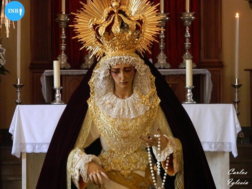 Virgen del Rosario de la Milagrosa. Carlos Iglesia (2)