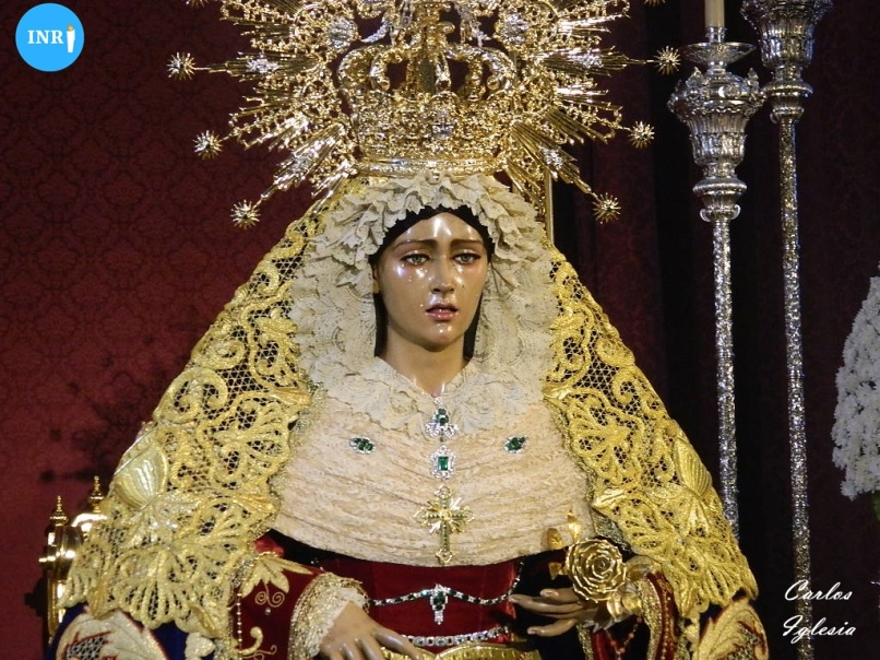 Virgen del Rosario de San Pablo. Carlos Iglesia (3)