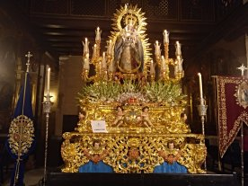 Virgen de la Luz // Hermandad de San Esteban