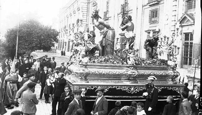 Cristo atado a la Columna y Azotes de Joaquín Bilbao
