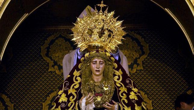 Coronación Virgen de los Dolores del Cerro / ABC