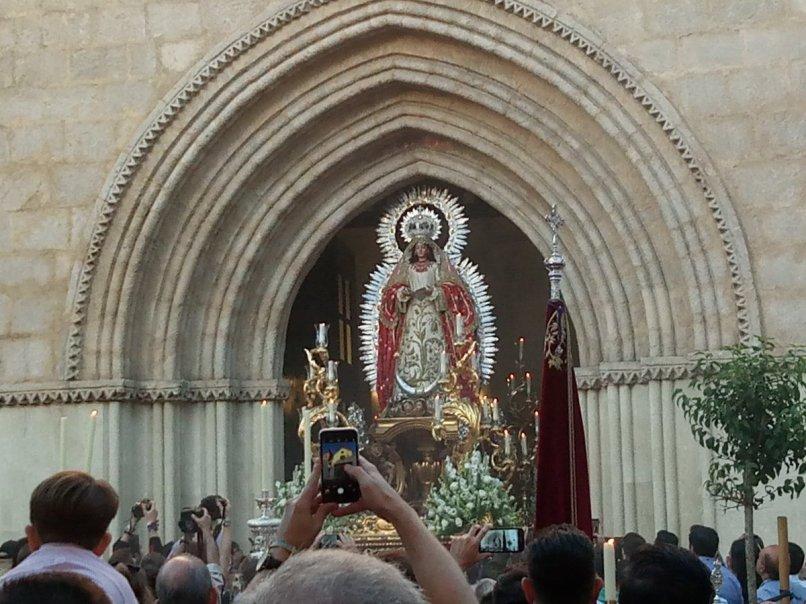 Procesión de la Virgen de la Encarnación de la Cena en San Román // Carlos Iglesia