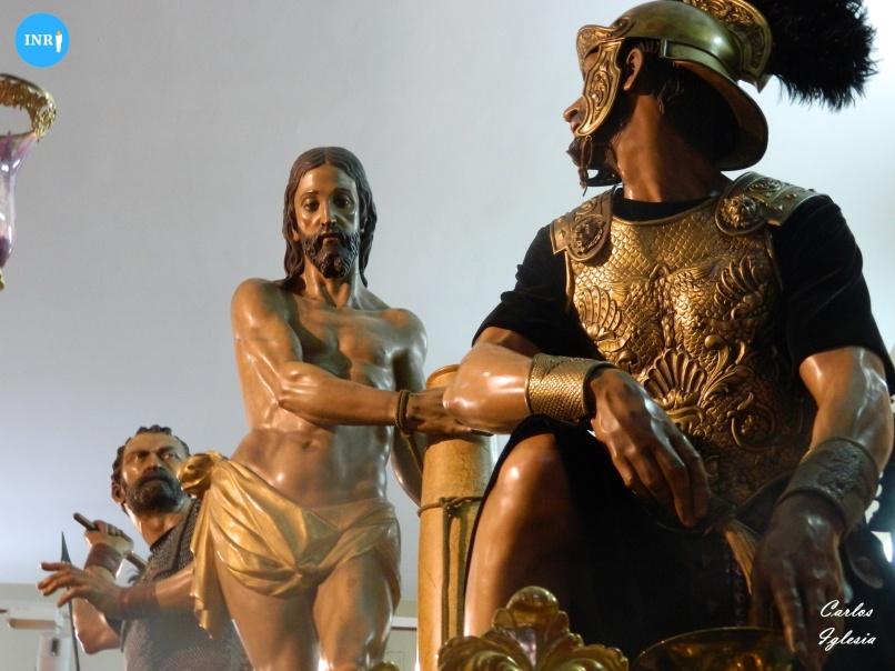 Cristo atado a la Columna y Azotes de las Cigarreras de Amaro Vázquez // Carlos Iglesia
