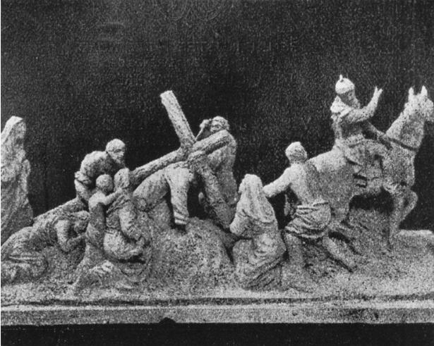Boceto Castillo Lastrucci misterio Tres Caídas de la Esperanza de Triana