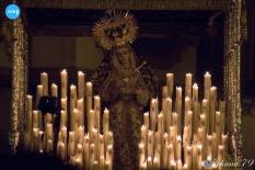 Virgen de la Victoria tras su coronación canónica // Johna
