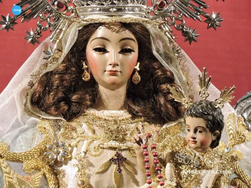 Besamanos a la Virgen de Montemayor // Ángela Vilches