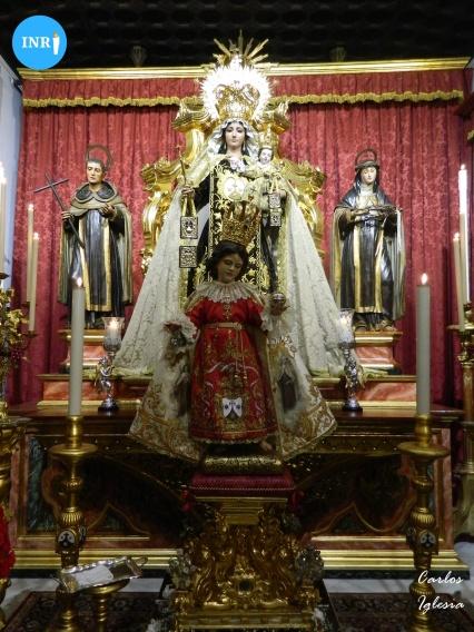 Besamanos al Niño Jesús de Praga del Carmen del Santo Ángel // Carlos Iglesia