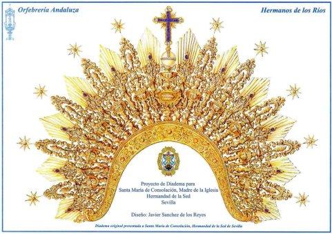 Nueva diadema para la Virgen de Consolación