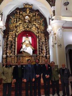 Restauración del retablo mayor del Baratillo