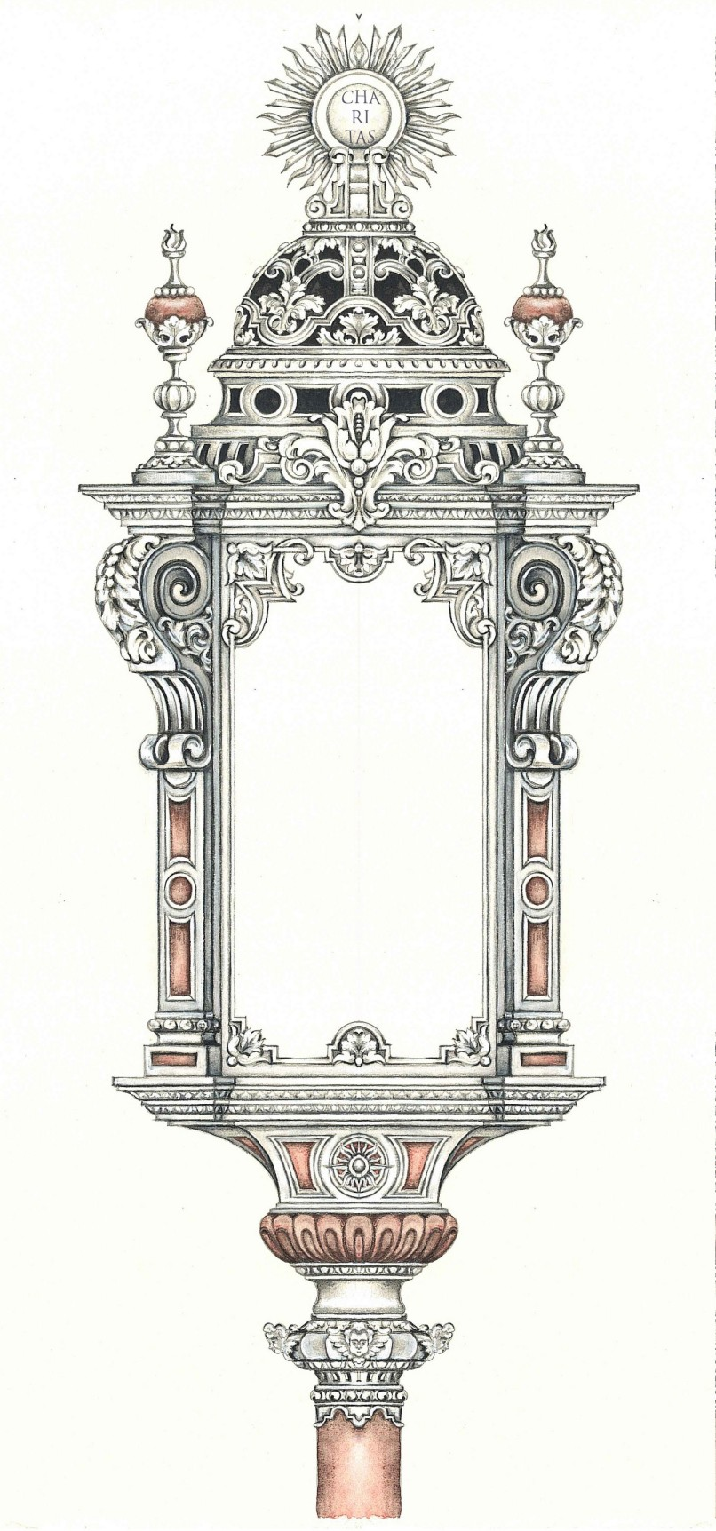 Farol para la reliquia de San Francisco de Paula en la Estrella