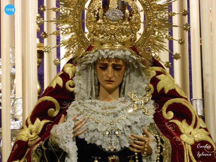 Altar de quinario de la Exaltación // Carlos Iglesia