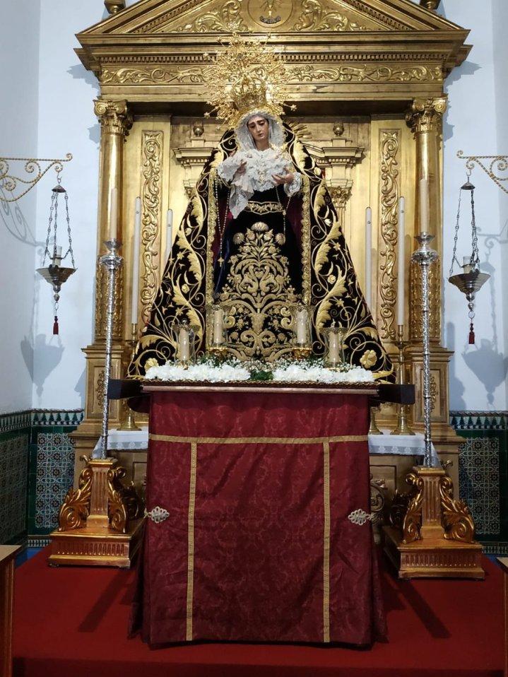 Traslado de la Virgen del Buen Fin de la Lanzada