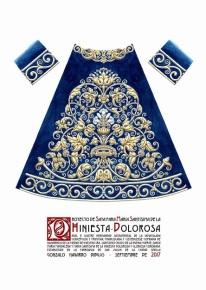 Nueva saya para la Virgen de la Hiniesta