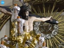 Cristo de los Desamparados del Santo Ágel en su paso // Carlos Iglesia