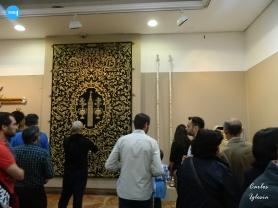 Restauración del techo de palio de la Virgen de Gracia y Esperanza de San Roque // Carlos Iglesia