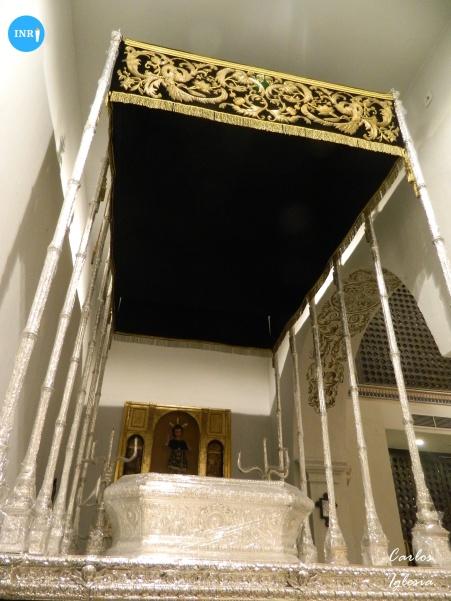 Paso de palio de la Virgen de las Tristezas de Vera Cruz // Carlos Iglesia