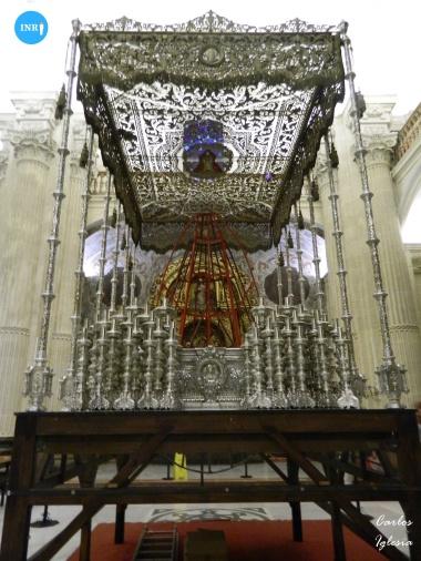 Paso de palio de la Virgen del Socorro // Carlos Iglesia