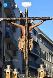Viacrucis del Consejo con el Cristo de la Conversión de Montserrat // Ángela Vilches