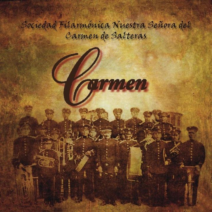 Portada del nuevo trabajo discográfico del Carmen de Salteras