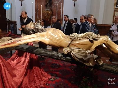 Besapiés del Cristo de la Expiración del Cachorro // Ángel García