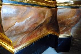 Banco de retablo de San Esteban
