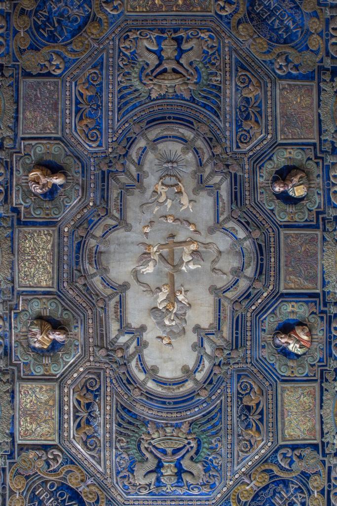 Techo de palio de la Virgen de la Palma del Buen Fin