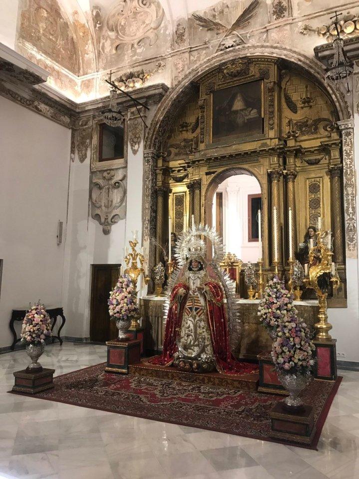 Virgen de la Encarnación de la Cena