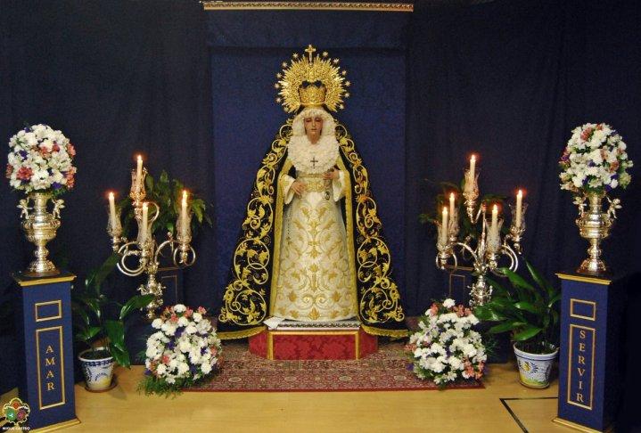 Virgen del Silencio de San Francisco Javier de las Lumbreras