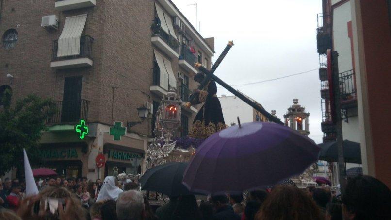Lluvia en las Siete Palabras // Carlos Iglesia
