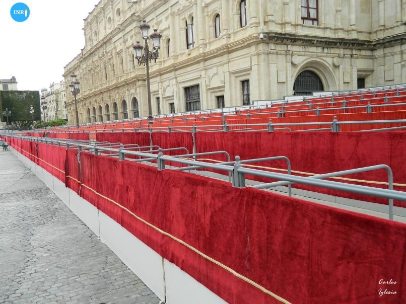 Palcos de la plaza de San Francisco // Carlos Iglesia