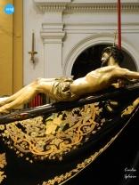 Besapiés al Cristo de la Salud de San Bernardo // Carlos Iglesia