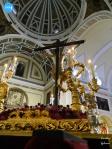 Cristo de los Desamparados del Santo Ángel en las andas de Montserrat // Carlos Iglesia