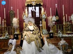 Besamanos de la Virgen de la Piedad de la Sagrada Mortaja // Carlos Iglesia