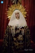 Besapiés del Cristo de la Expiración y la Virgen de las Aguas del Museo // Ángela Vilches