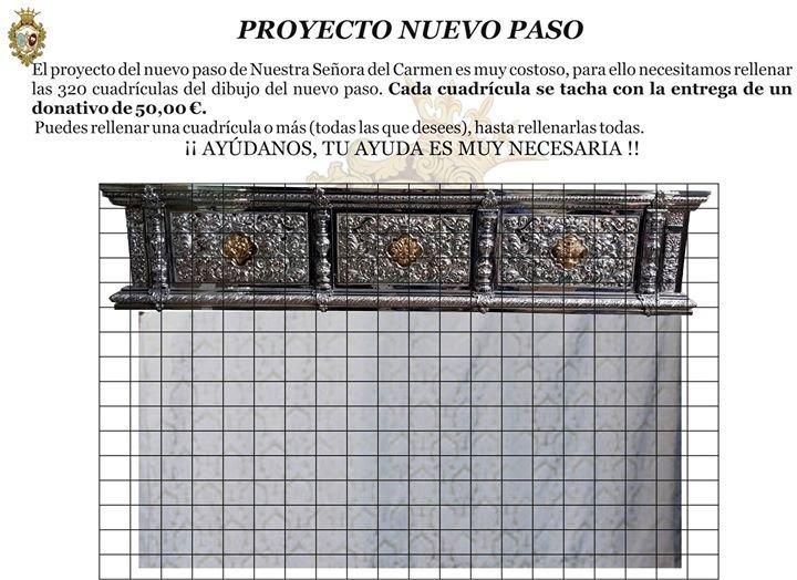 Poryecto nuevo paso Carmen San Pablo