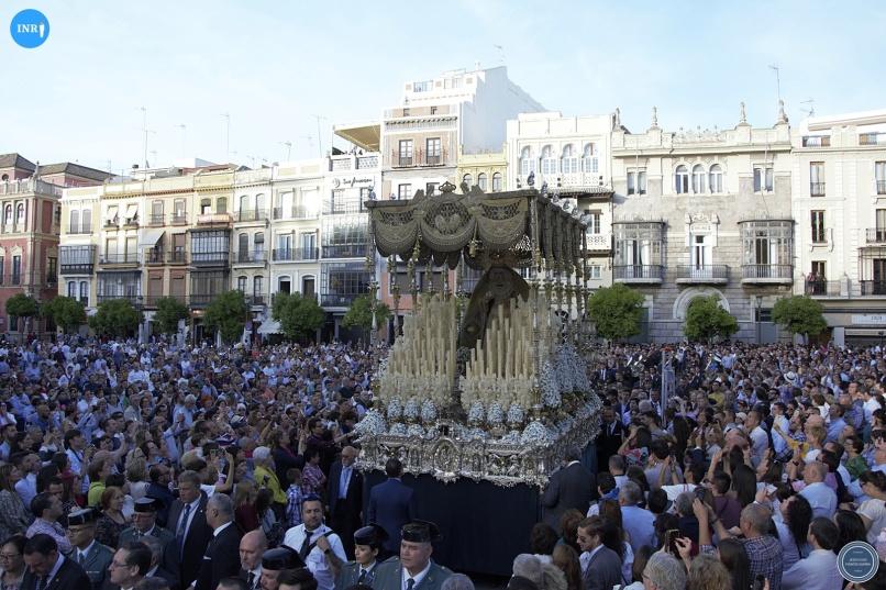 Virgen de los Ángeles de los Negritos tras su coronación // Jesús Elías