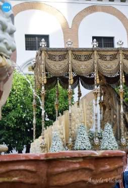 Virgen de los Ángeles de los Negritos tras su coronación // Ángela Vilches