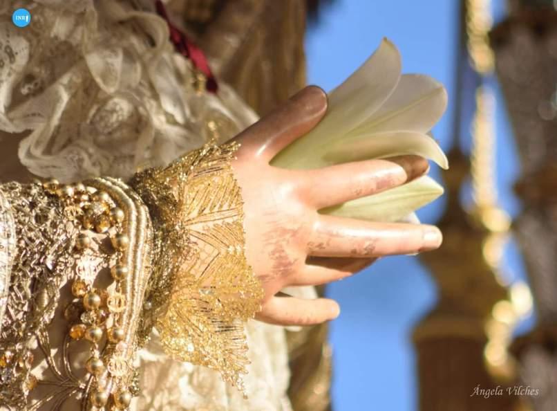 Traslado de la Virgen de los Ángeles a la catedral por su coronación // Ángela Vilches