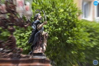 Traslado del Señor de la Cena en el Corpus //Jesús Elías