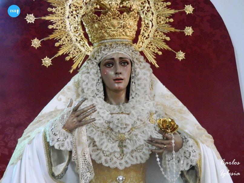 Titulares del Dulce Nombre de Bellavista en la parroquia del Sagrado Corazón // Carlos Iglesia