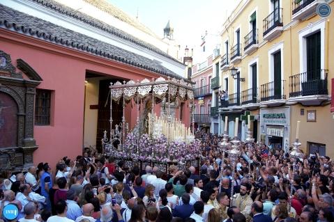 Salida de la Virgen del Carmen de Santa Catalina // Jesús Elías