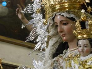 Besamanos de la Virgen del Carmen del Santo Ángel // Carlos Iglesia