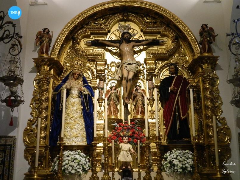 Cristo de la Exaltación tras su intervención // Carlos Iglesia