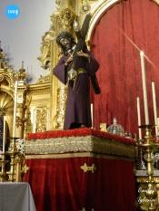 Señor del Gran Poder en andas de traslado // Carlos Iglesia