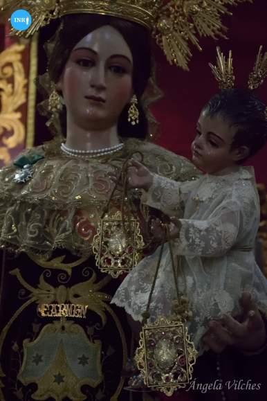 Besamanos de la Virgen del Carmen de San Gil // Ángela Vilches
