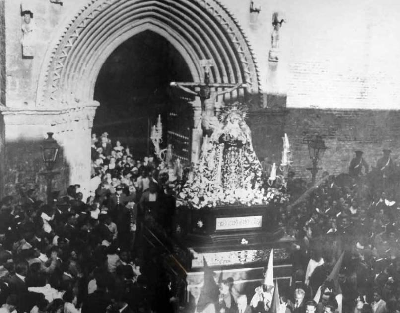 Misterio de la Hiniesta en 1936